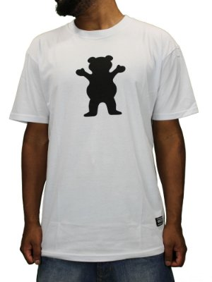 Camiseta Grizzly Og Bear Logo