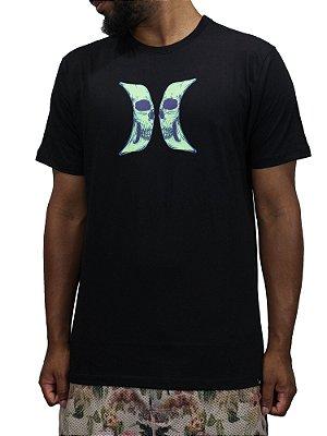 Camiseta Hurley Skull