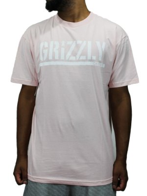 Camiseta Grizzly OG Stamp pink