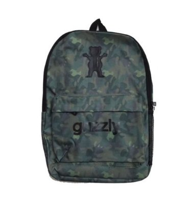 MOCHILA GRIZZLY OG LOGO MILITARY
