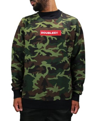 Moletom Double-G Red Box Camo Verde