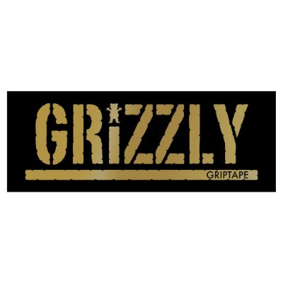 Adesivo Grizzly Gold Stamp