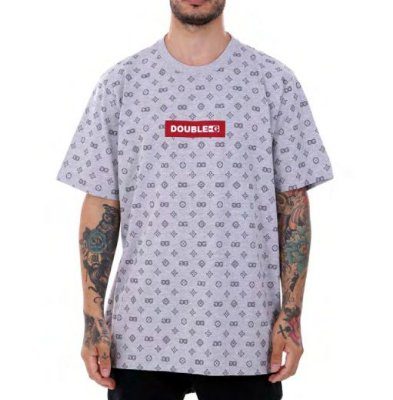Camiseta Double- G Red Box Pattern