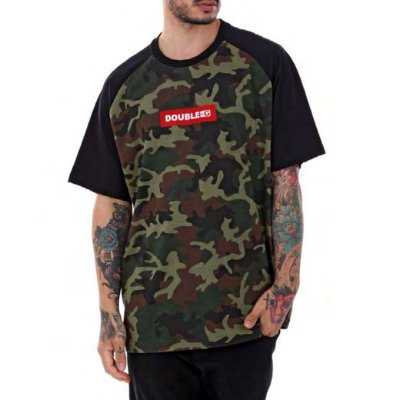 Camiseta Double-G Red Box Camo Verde