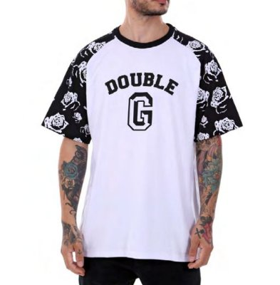 Camiseta Double-G Raglan Flowers
