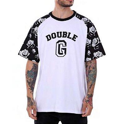 93b41d2e9bf63 Camiseta Double-G Raglan Flowers