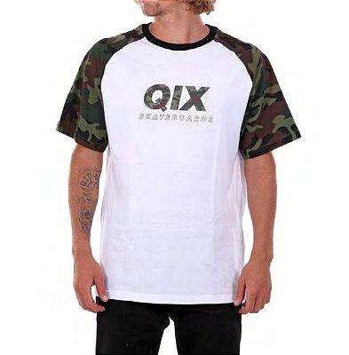 Camiseta Qix logo camo