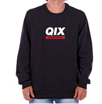 Moletom Qix Classic Preto