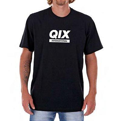 Camiseta Qix Basic winter Preta 2018