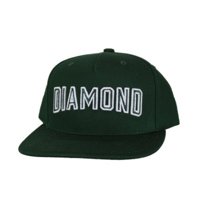 Boné Diamond Stadium Green Snap