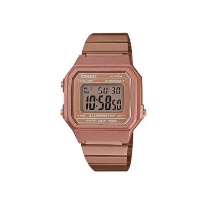 RELÓGIO CASIO VINTAGE ROSE GOLD B650WC-5ADF