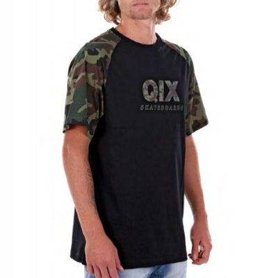Camiseta Qix Soldier Preta