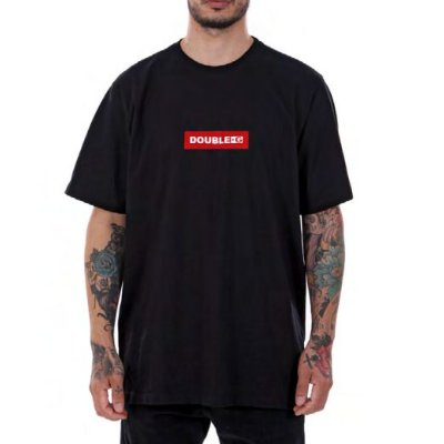 Camiseta Double- G Red Box Preta