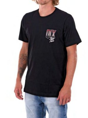 Camiseta Qix Stay true Preta
