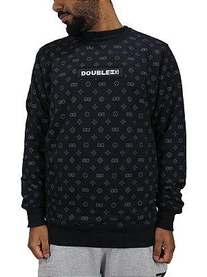 Moletom Double-G Black Box L/V Sem Capuz EDIÇÃO LIMITADA