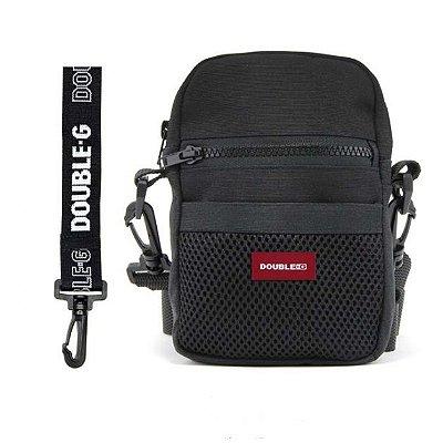 SHOULDER BAG DOUBLE-G PRETA