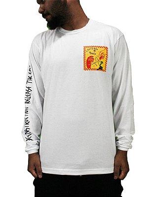 Camiseta Mess x Vision Stupid Branca