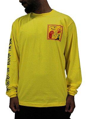 Camiseta Mess x Vision Stupid Amarela