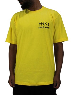 Camiseta Mess x Vision Descontruction Amarela