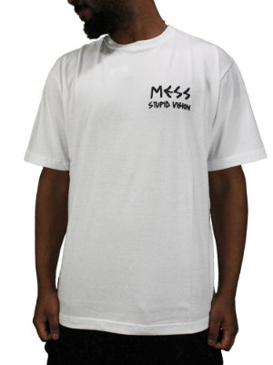 Camiseta Mess x Vision Descontruction Branca