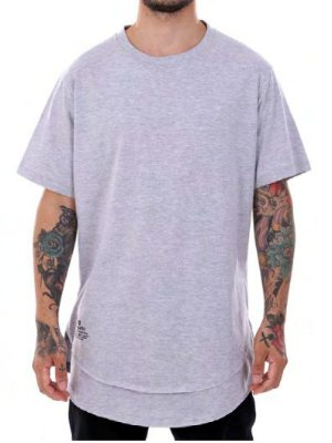 Camiseta Double-G Grey Long