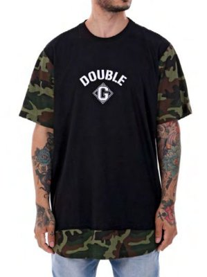Camiseta Double-G Camuflado Long