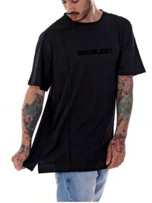 Camiseta Double-G prime Black Black long