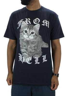 CAMISETA BLUNT CAT FROM
