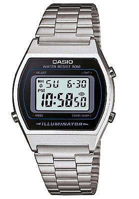 Relogio Casio B640 Retrô Prata 50m Alarme A168