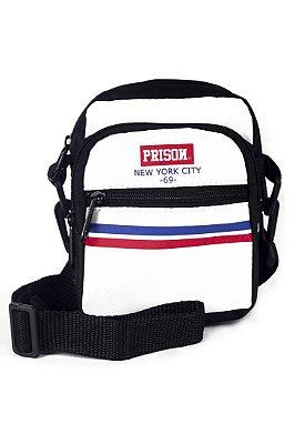 SHOULDER BAG PRISON STRIPES