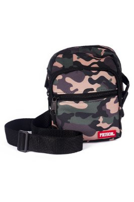 SHOULDER BAG PRISON CAMO