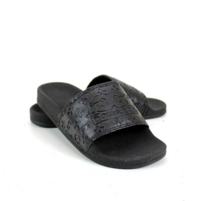 Chinelo Double-G Slide Preto DBG NOVO