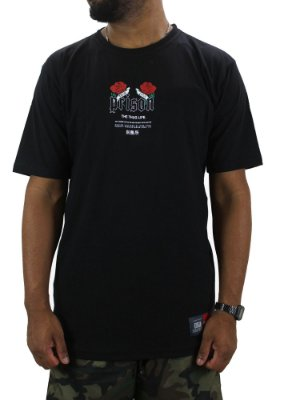 Camiseta Prison True Love preta