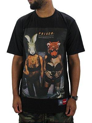 Camiseta Prison Animal Girls Preta