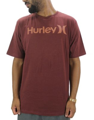 CAMISETA HURLEY BORDO