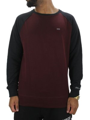 MOLETOM WAVE GIANT RAGLAN