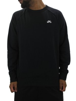 MOLETOM NIKE ICON CREW BLACK