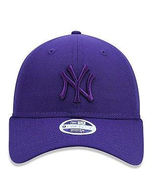 Boné New Era 920 New York Yankees Roxo