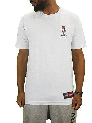 camiseta prison roses skull