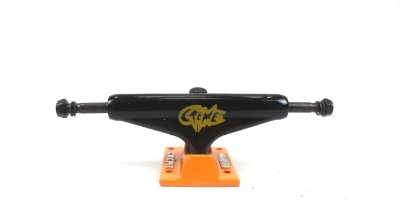 Truck Creme 129mm Black/orange