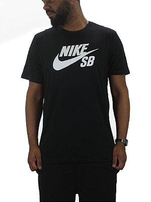 camiseta nike sb preta