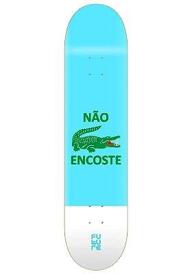 """Shape Marfim Não Encoste Azul 8.0"""""""