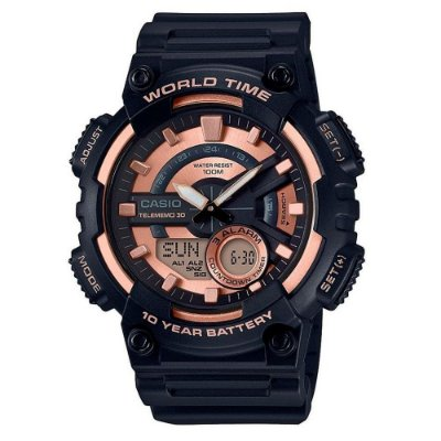 Relógio Casio Standard Aeq-110w-1a3vdf