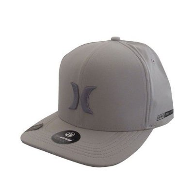 BONÉ HURLEY DRI-FIT DOVE GRAY