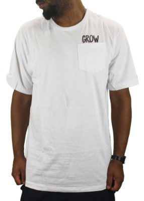 CAMISETA GROW BOLSO LABEL