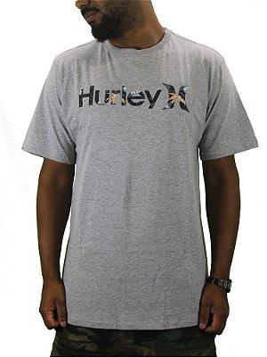 camiseta hurley script flower