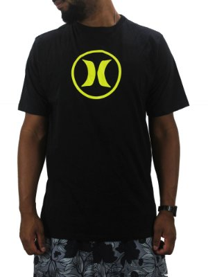 camiseta hurley neon icon