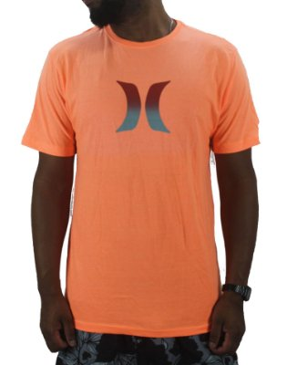 camiseta hurley neon icon degrade