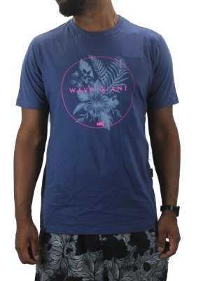camiseta wave giant flower circular