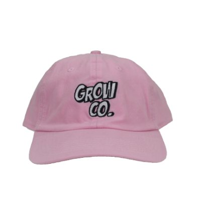 boné grow co. pink